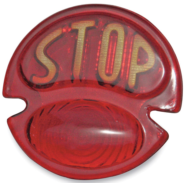 Replacement Stop Lens for Model T Taillight Assembly