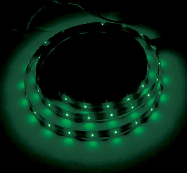 Green LED Accent Lighting Kit Single 36″ Strip