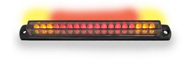 Signal Dynamics Corporation Black Universal Led Light Bar with Integrated Turn Signals