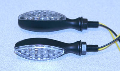 K&S Oval LED Ultra Mini Stalk Marker Lights