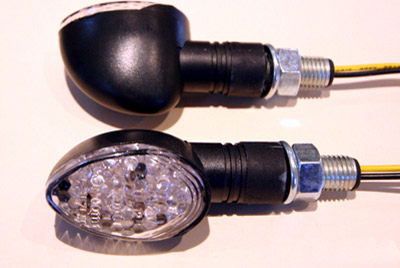K&S Oval LED Ultra Mini Short Stem Stalk Marker Lights