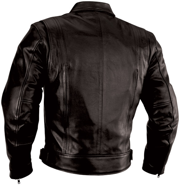 River Road Men's Cruiser Leather Jacket