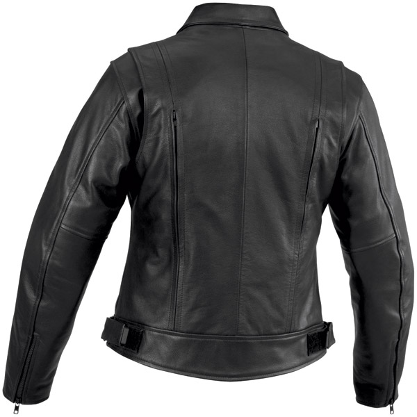 River Road Women's Cruiser Leather Jacket