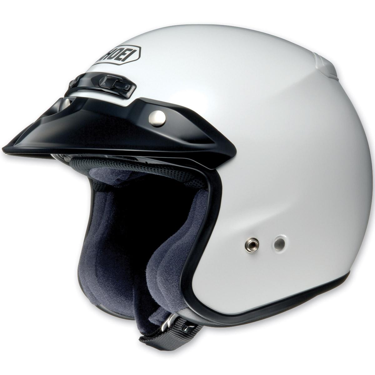 Shoei RJ Platinum-R White Open Face Helmet