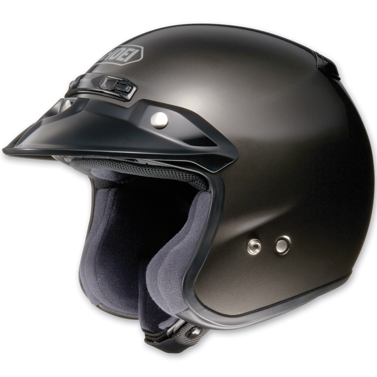Shoei RJ Platinum-R Metallic Anthracite Open Face Helmet