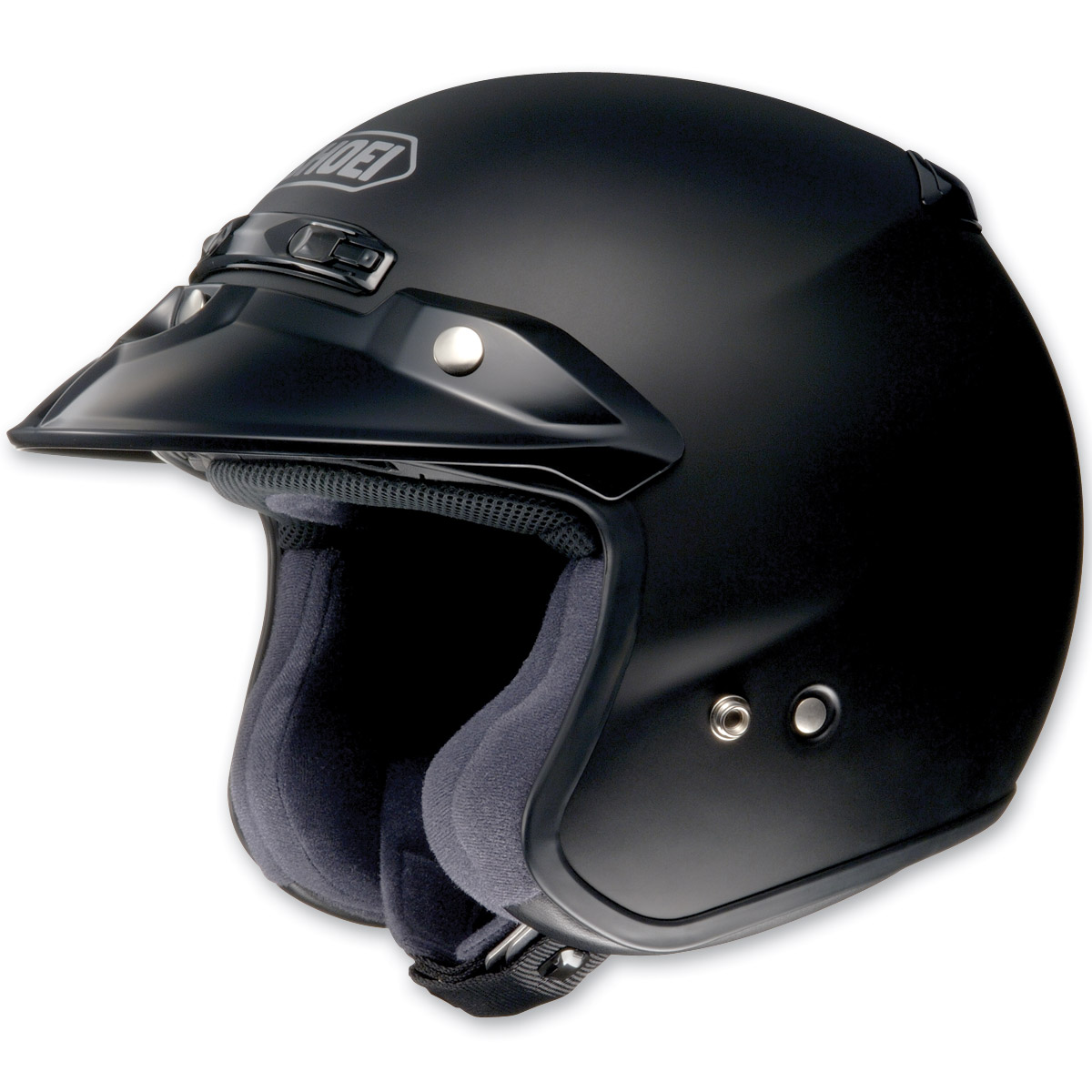 Shoei RJ Platinum-R Matte Black Open Face Helmet