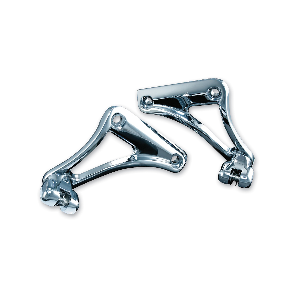 Kuryakyn Chrome Underseat Peg Mounts