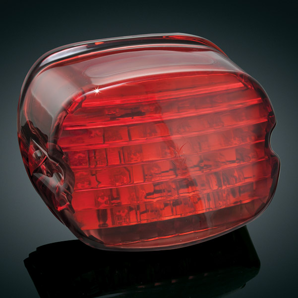 Kuryakyn Low Profile Panacea Taillight without License Plate Window