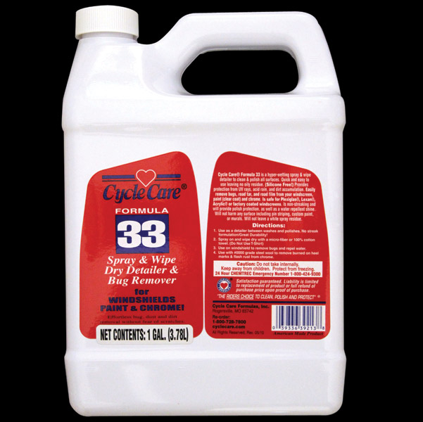 Cycle Care Gallon Formula 33 Spray and Wipe Polish and Cleaner
