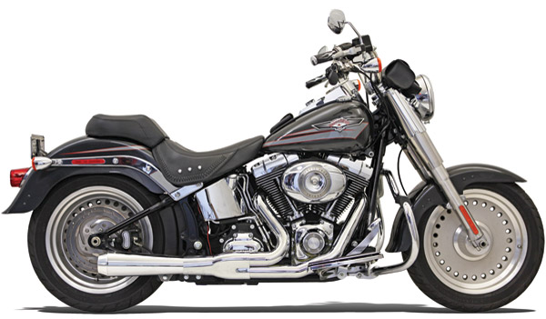 Bassani Road Rage Chrome 2-into-1 Short Megaphone Muffler