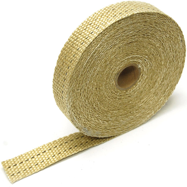 Design Engineering Inc. 1″ x 50′ Exhaust Wrap - Tan