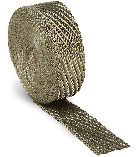 Design Engineering Inc. 1″ x 15′ Titanium Exhaust Wrap
