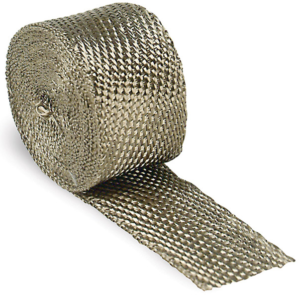 Design Engineering Inc. 2″ x 15′ Titanium Exhaust Wrap
