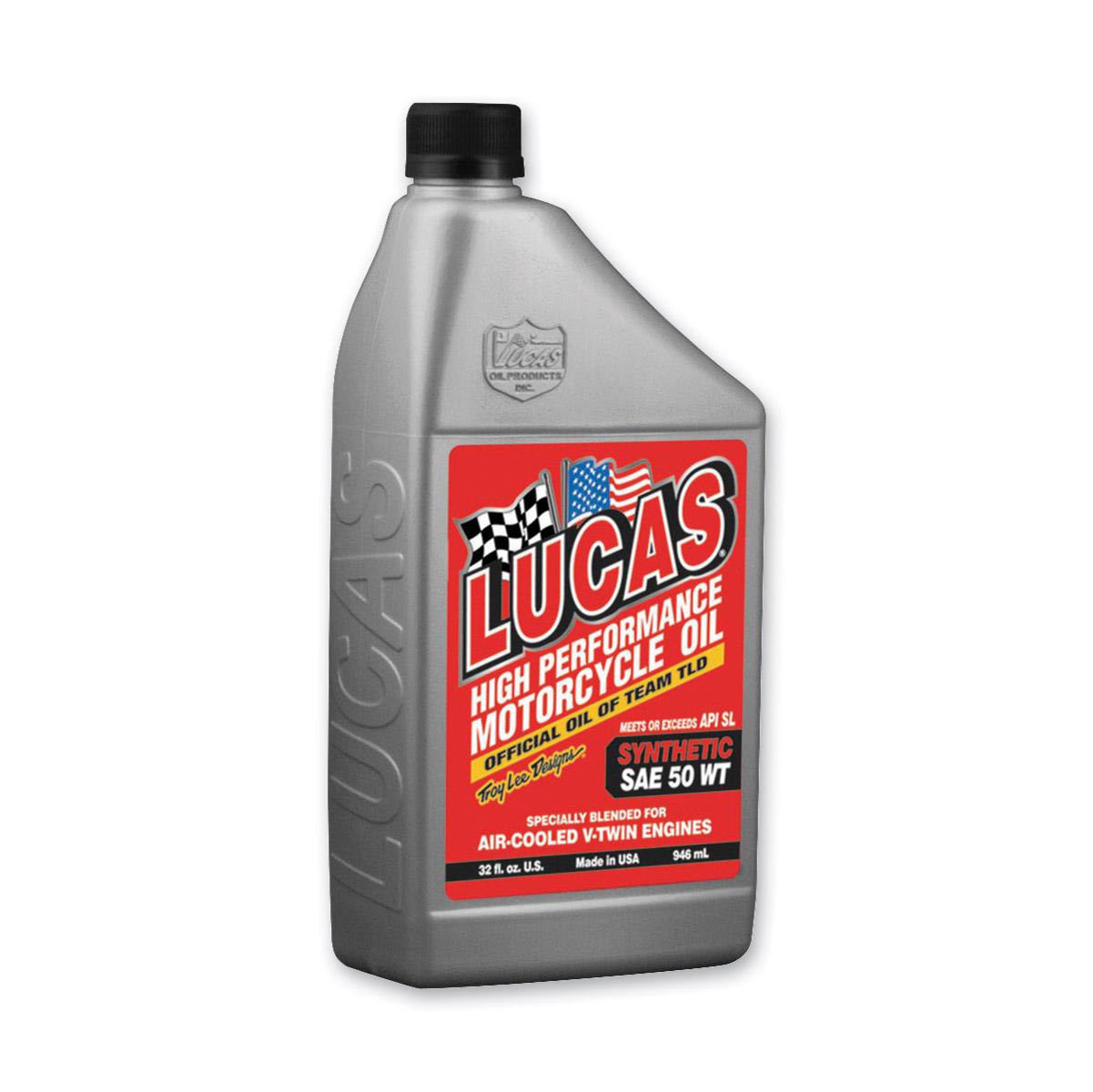 Lucas Synthetic 50W Motor Oil Quart
