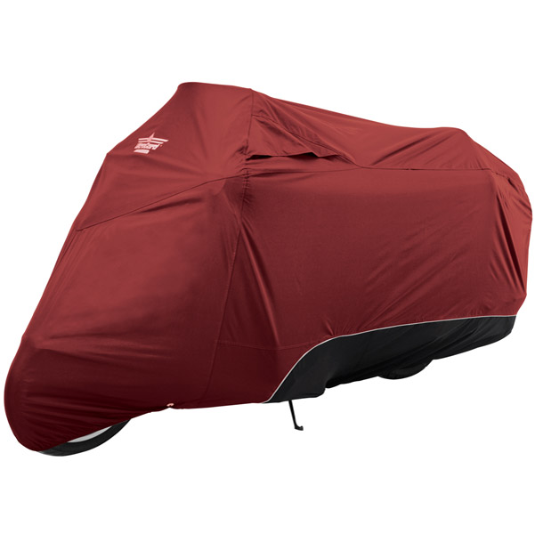 UltraGard Touring Cranberry/Black Bike Cover
