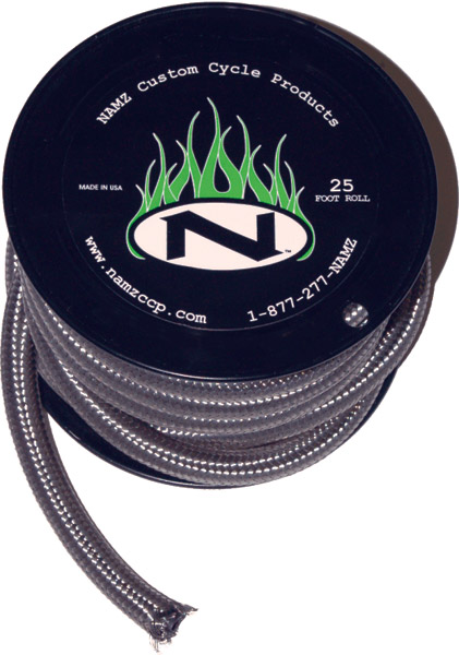 NAMZ Custom Cycle 25' x  5/16″ ID Stainless Fuel Line