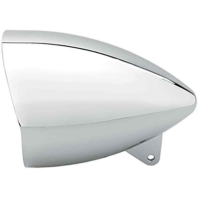 Headwinds 7″ Chrome Mariah with Visor Rocket Headlight Housing