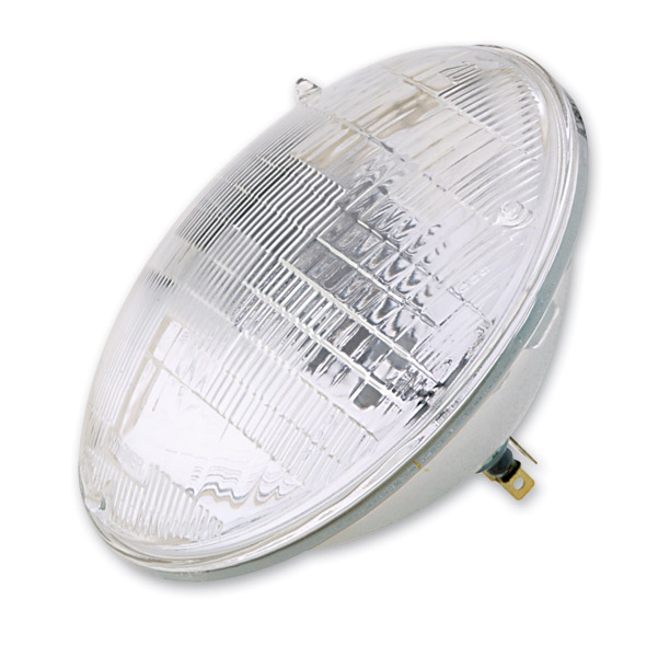 J&P Cycles® 7″ 12-Volt Replacement Sealed Beam Bulb