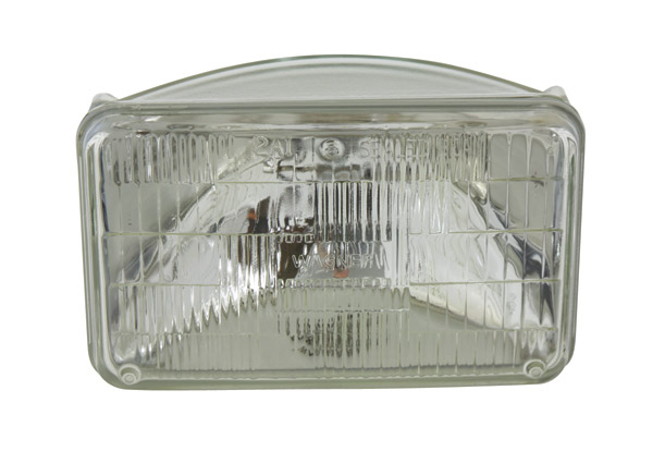 Chrome Caddy Style Headlight Replacement Bulb