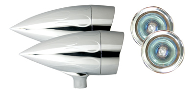 Adjure XL1 Bullet Lights Halogen - Flamed Housing