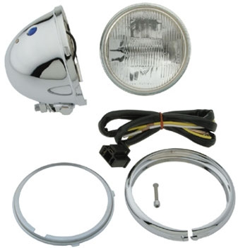J&P Cycles® 4-1/2″ Mini Headlight Assembly