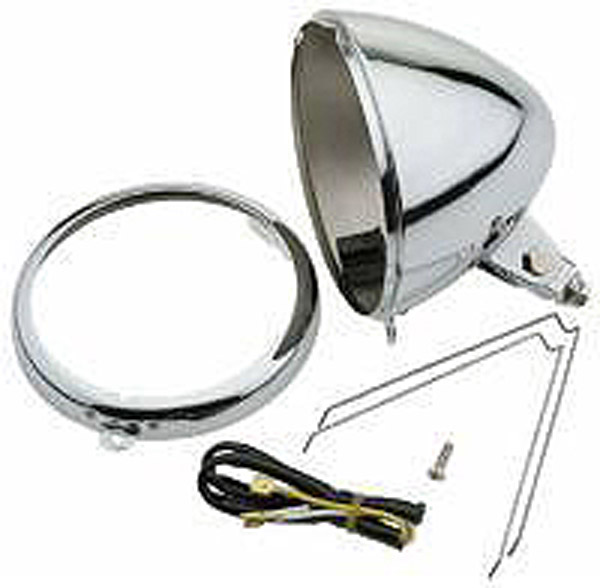 J&P Cycles® Headlight Shell Assembly
