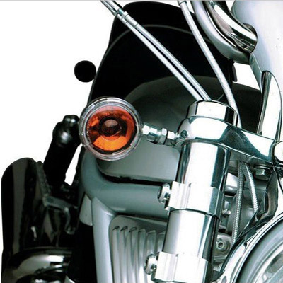Hotop Designs Front Turn Signal Relocation Kit for Dyna - 2020-0372