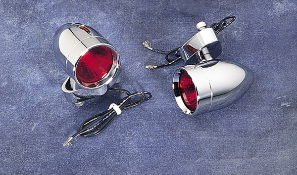 Lazer Star Micro B Style Halogen Lights with Red Lenses