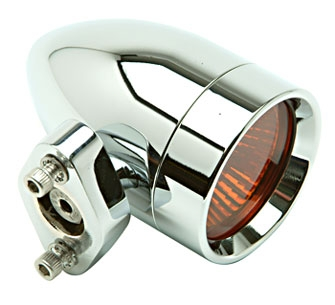 Lazer Star Bullet Style Halogen Lights with Amber Lenses
