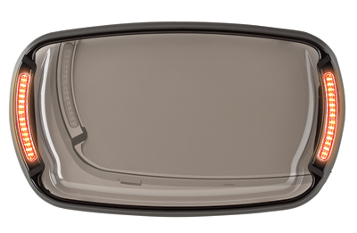 CycleVisions Black Illumabezel for Road Glide