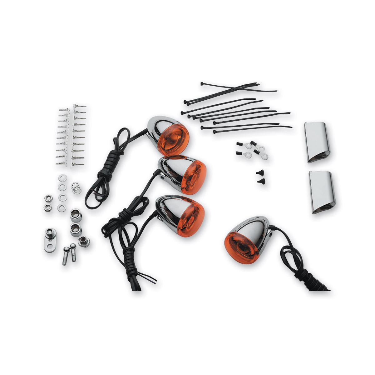 J&P Cycles® Bullet Turn Signal Kit