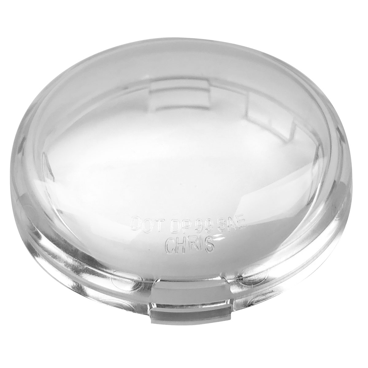 Deuce-Style Turn Signal Lens Chris Products Clear DHD5C