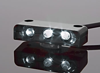 Custom Dynamics LED Accessory Lights with Black Housings
