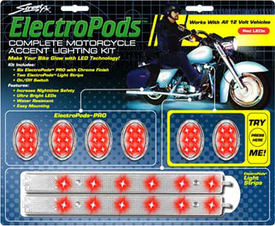 Street FX ElectroPods Complete Bike Lighting Kit