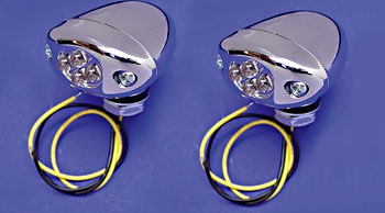V-Twin Manufacturing Center Mount LED Marker Lights