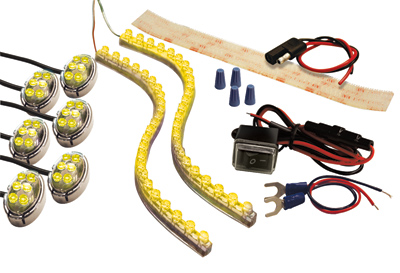 Street FX ProFlex Kit with Chrome casings