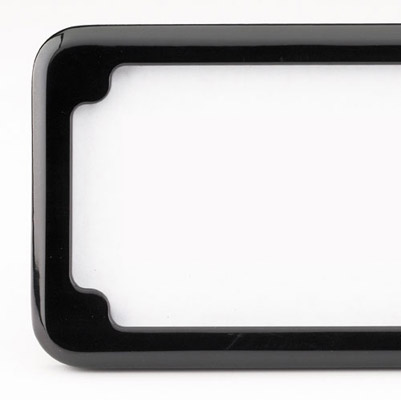 CycleVisions In Close License Plate Holder with Light
