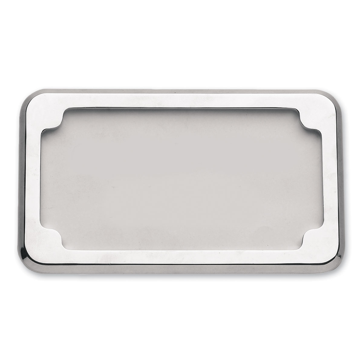 CycleVisions Chrome Beveled License Plate Frame | 340-0079 | J&P Cycles