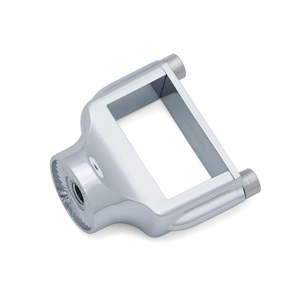 Kuryakyn Curved Horizontal Side Mount License Holder