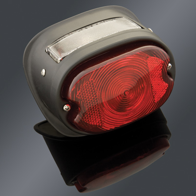 V-Twin Manufacturing Primered Taillight Assembly