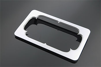 V-Twin Manufacturing Rectangular Billet License Plate Frame