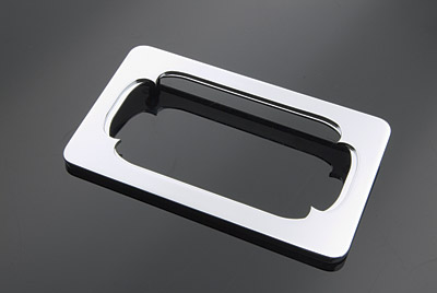 V-Twin Manufacturing Oval Billet License Plate Frame