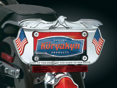 Kuryakyn Lone Eagle License Plate Frame