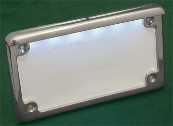 Radiantz Horizontal Illuminator License Plate Frame