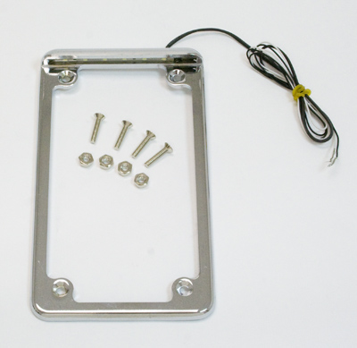 Radiantz Vertical Illuminator License Plate Frame