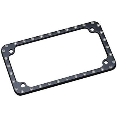 Covingtons Customs Billet License Plate Frame | 340-611 | J&P Cycles