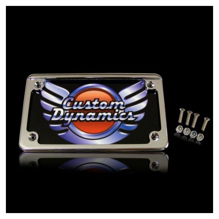 Custom Dynamics Hidden LED Board License Plate Frame