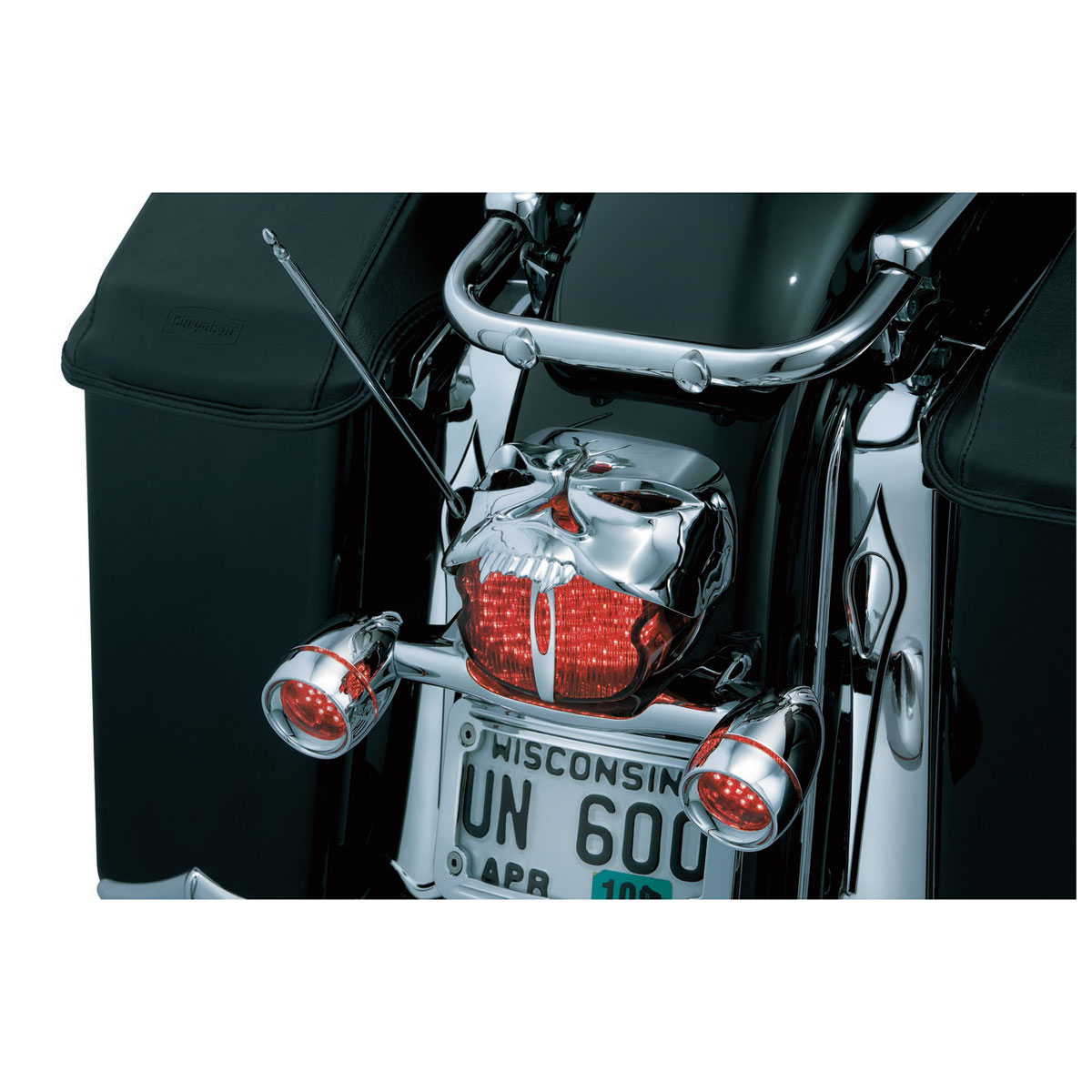 Kuryakyn Chrome Zombie Taillight Cover