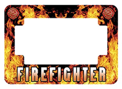 American Eastern Traders Firefighter License Plate Frame