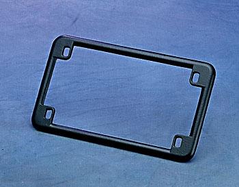 J&P Cycles Black Chrome License Plate Frame